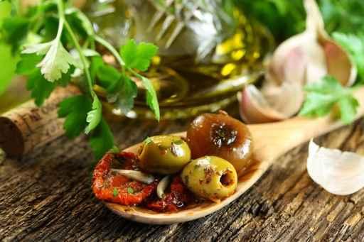 Leckere Antipasti - Mittelmeerküche